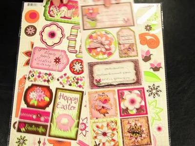 Bo Bunny - Vicki B Scrapbook Collection