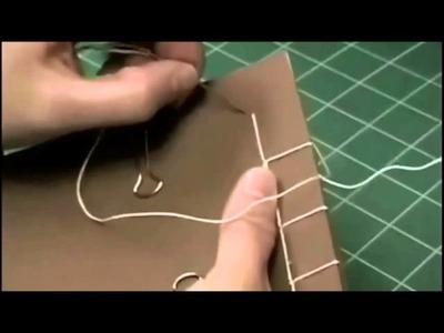 Book Binding for Beginners: Japanese Stab Binding 4-hole