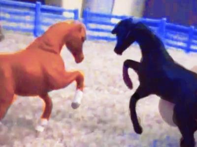 Breyer Horses ♥ Breakup Part 1 ♥ Arabian Series Mini Whinnies Video Movie Series Honeyhearts27