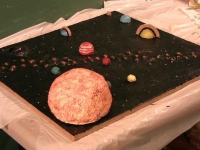Build a solar system model