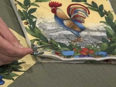 Create a simple potholder in 30 minutes