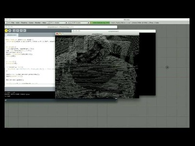 DIY 3D Scanning with Microsoft Kinect and Processing