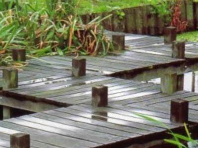 DIY build japanese garden bridge