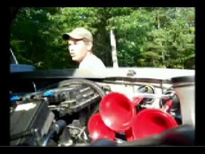 D.I.Y. WOLO Dixie Air horn install on a lifted Chevy Silverado