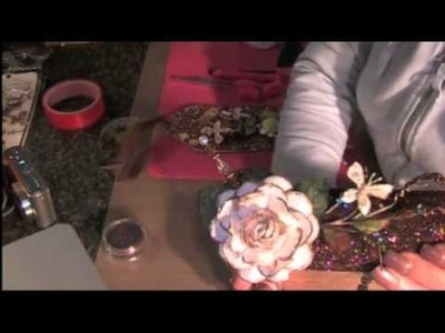 Double Sided Tape & Glitter Projects with Fiona & Glenda Part 1