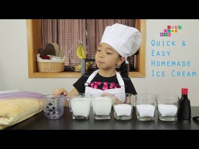 Easy Homemade Ice Cream | Full-Time Kid | PBS Parents