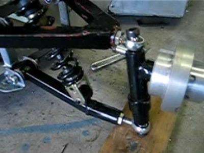 Go-kart front suspension design