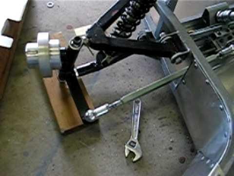 Go-kart steering design