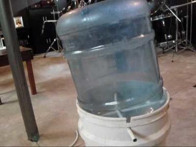 Homemade Water Bottle Hand Drum