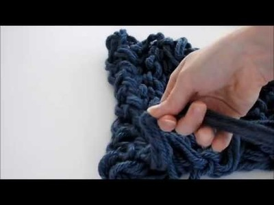How to Arm Knit Step 6: Joining it Together