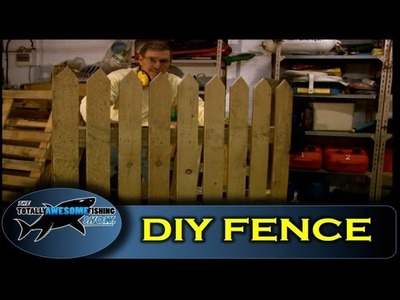 How to build a fence using pallet wood - Cheap, simple & easy!
