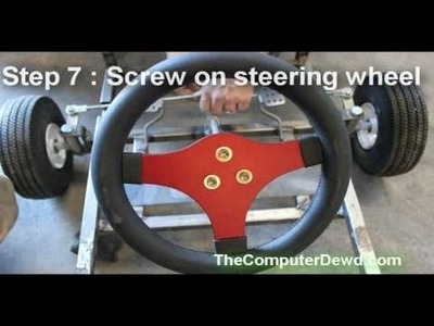 How to build a go kart : Part 3 : Steering