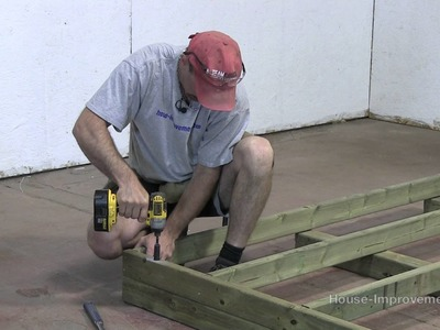 How To Build A Shed - Part 1 Building The Floor