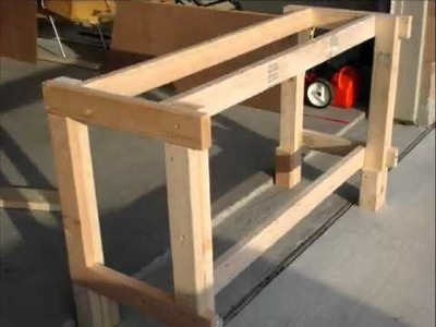 How to Build a Workbench In Only A Few Steps