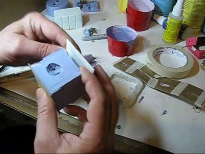 How to Cast Fantasy Miniatures in a two part rubber mold video 2 of 2