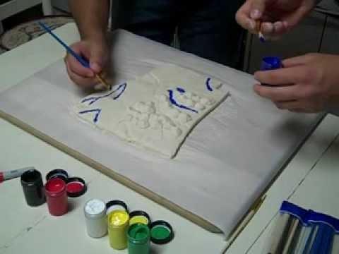 How To Create a Salt Dough Map converted