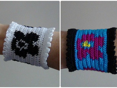 How to Crochet a Bracelet Cuff