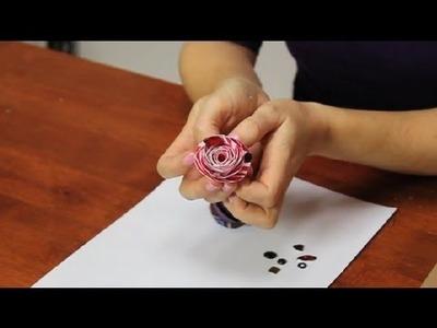How to Glue Rhinestones on Flowers : Fun & Simple Crafts