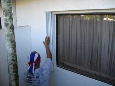 How to install Accordion Hurricane Shutters