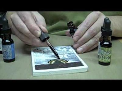 How to Make a Cut-N-Dry™ Felt Custom Ink Pad