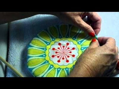 How to Make a Cute Pincushion Part 1 of 2 Day 23
