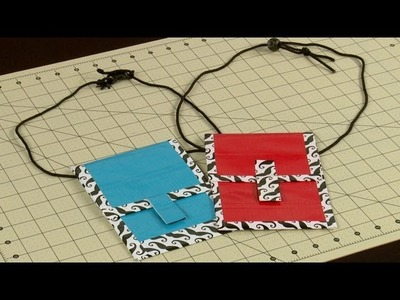 How To Make A Duct Tape Passport Lanyard