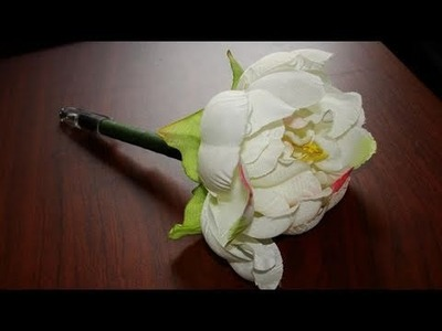 How to Make A Flower Pen