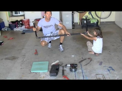 How To Make A Homemade Pull Up Bar