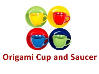 How to make an Origami Cup
