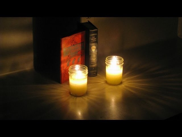 How to Make Candles at Home without Wax from Common Household Materials - Easy, Quick, Minimalist