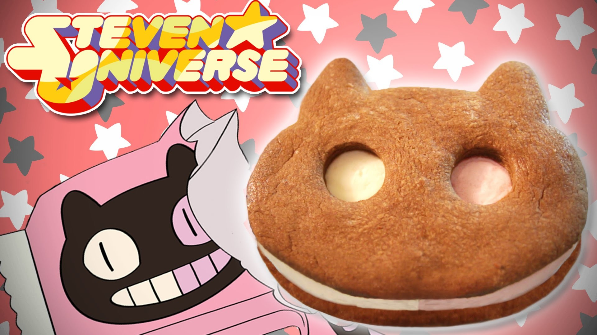 How to make COOKIE CAT from Steven Universe, Feast of Fiction S4 Ep5