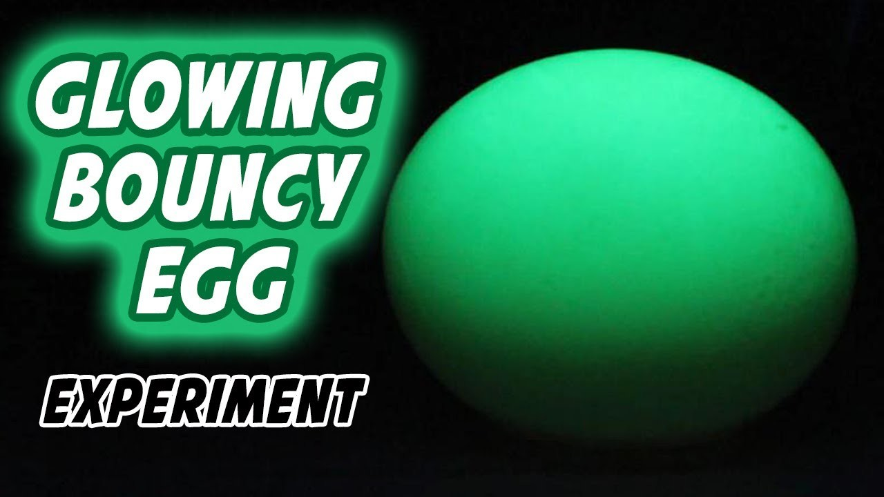 How To Make Glowing Bouncy Egg