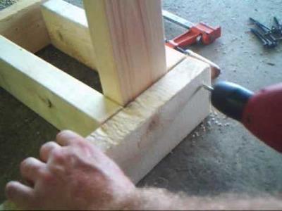 How to make good homemade log racks that work