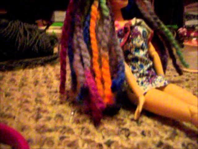 How To Make MyFroggyStuff's Yarn Wigs *TUTORIAL*