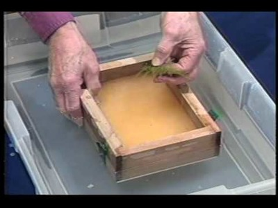 How To Make Paper: Surface Embedment