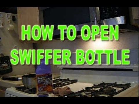 How to refill Swiffer WetJet Bottle and save money by using your own cleaning solutions