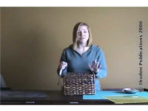 How To Sew A Basket Liner