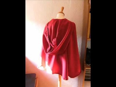 How to sew a cape