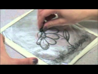 Kitchen Lithography- Make a Lithographic print using household products