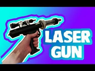 LASER GUN: Build a Laser Gun!!