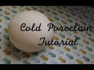 Make Your Own Cold Porcelain!