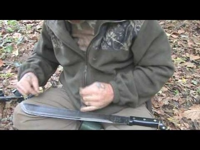 Making a Flemish Bow String in the Bush Part 1