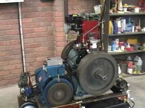 My Ozlisteroids JKSON Diesel 8.1 generator.compressor project Pt 1.
