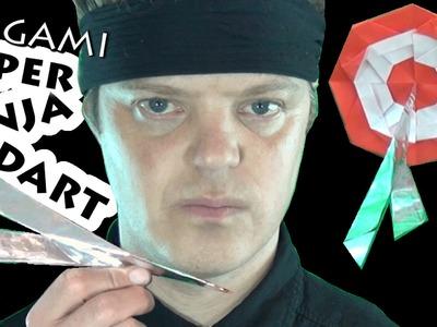 Origami Super Spinning Ninja Dart