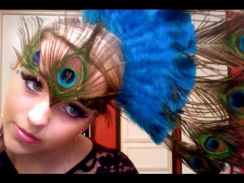 Peacock Halloween Makeup!