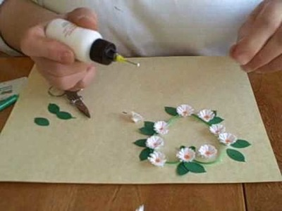 Qilling with yoyomax12:  FRINGED FLOWER HEART DEMO