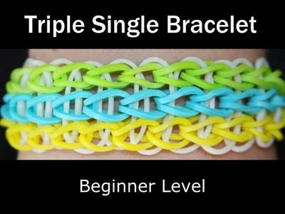 Rainbow Loom® Triple Single Bracelet
