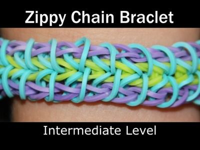 Rainbow Loom® Zippy Chain Bracelet