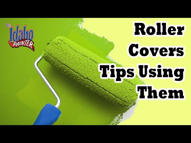 Roller covers and tips using them.  Painters Rollers And How To Use it.