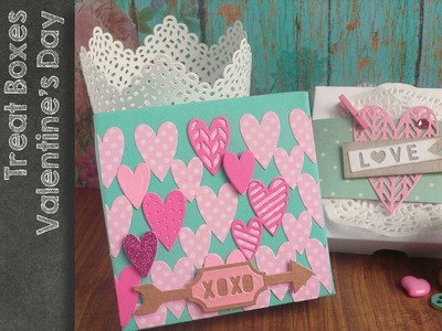 Sizzix - Big Shot  - Treat Box tutorial n.1 for Valentine's Day